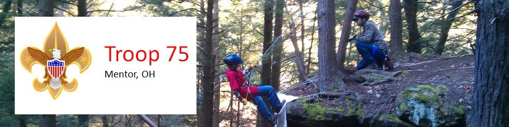 BSA Troop 75 Mentor, Ohio